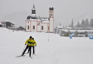 Der erste Schnee in Tirol - klein