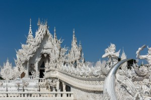 White Temple in Chiang Rai -2-klein